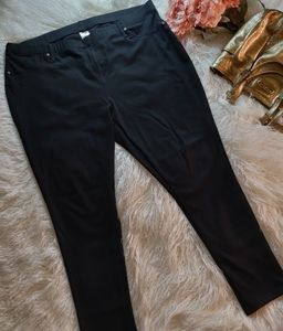 Size 2X black jeggings